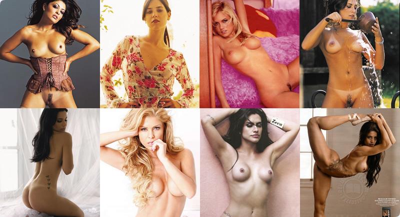 Atrizes da Globo peladas e nuas na Playboy