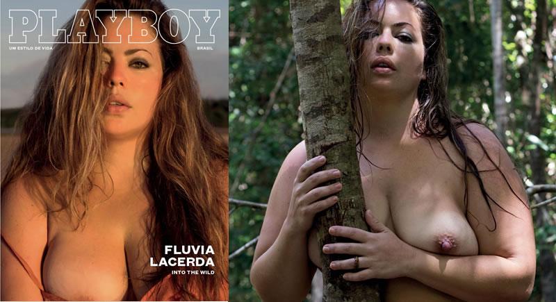 Model plus fluvia nude size lacerda